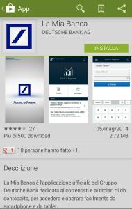 """App """"La Mia Banca"""""""